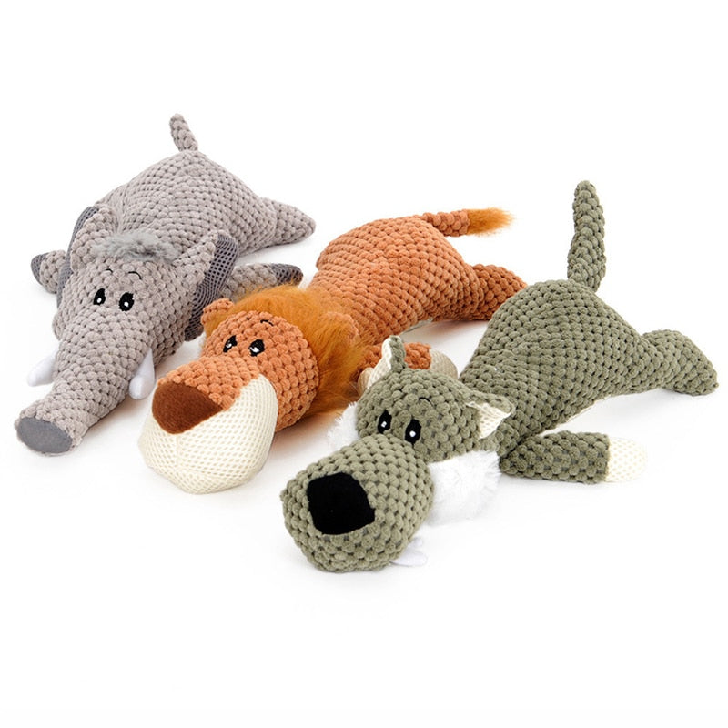 Silly Safari Plush Toy - Playful Pooch Boutique - Online Dog Pet Store