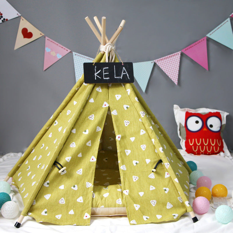 Dixie Dream Teepee | Pear - Playful Pooch Boutique - Online Dog Pet Store