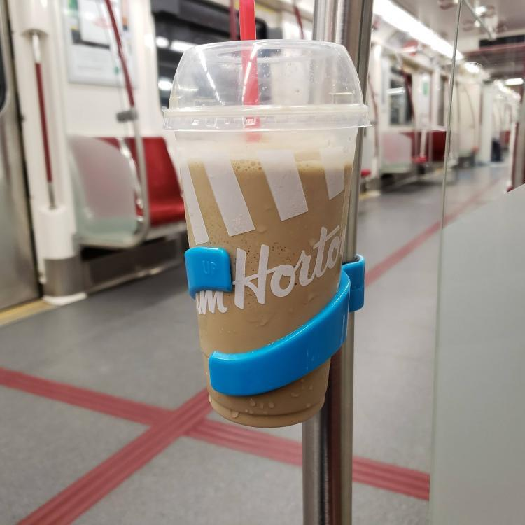 The New Universal Subway Bus Bike Drink Cup Holder