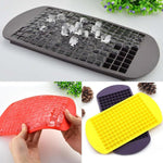 160 Grids Food Grade Silicone Ice Cube Maker