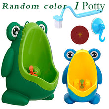 Baby Boy Wall-mounted Hook Frog Potty Toilet Training
