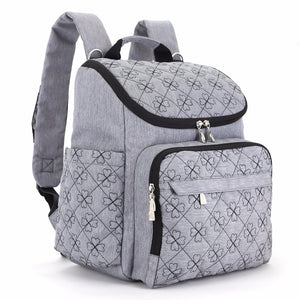 Fashionable Travel Friendly Luggage Stroller & Backpack Diaper Bag
