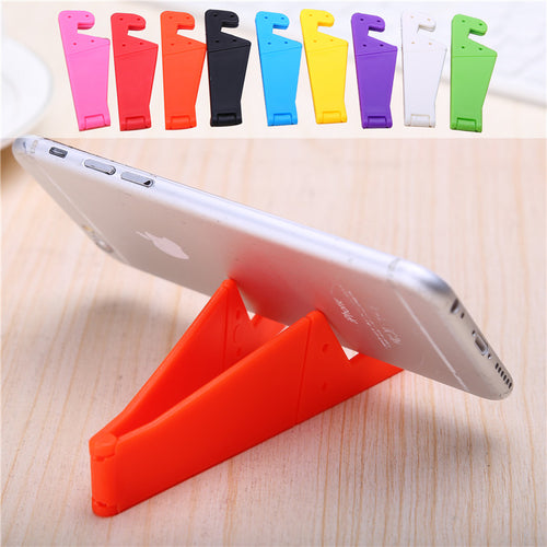 Cute V Shape Adjustable Mobile Phone Portable Stands for (iPhone 5 6 7 8 Samsung HTC)