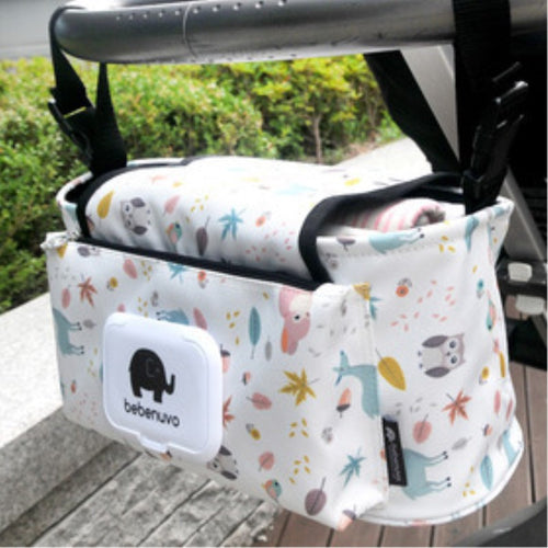 Baby Hanging Basket Stroller Diaper Bag & Storage