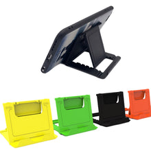 Foldable Cradle Phone/Tablet Stand - Multi-angle Desk Holder (Samsung iPhone 8 7 6S 6 HTC)