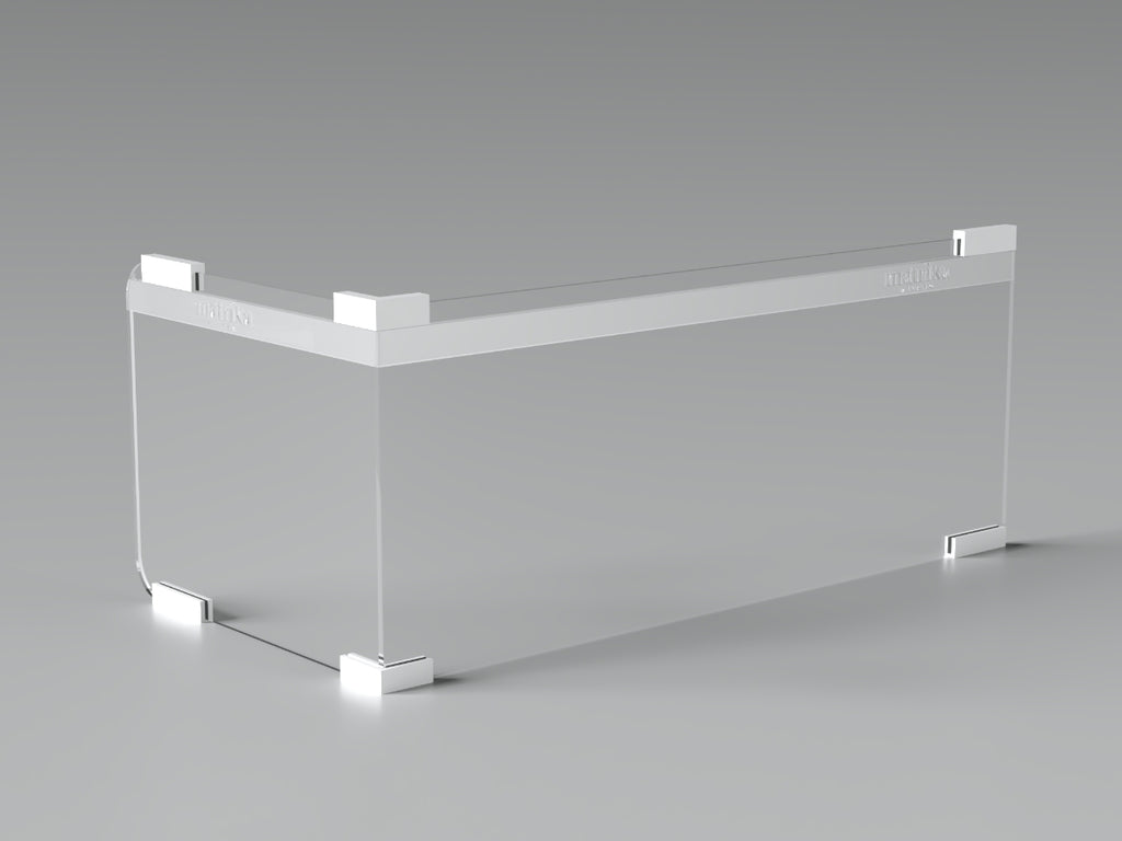 Kit Desks - Plexiglass protection barrier