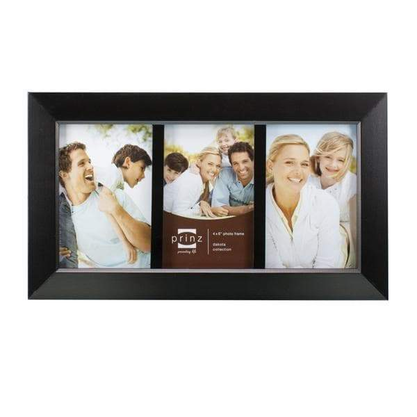 Dakota Collage 3 Picture Frame - Black (4x6)