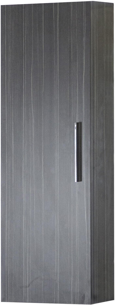 American Imaginations AI-1405 12-in. W 36-in. H Modern Plywood-Melamine Medicine Cabinet In Dawn Grey
