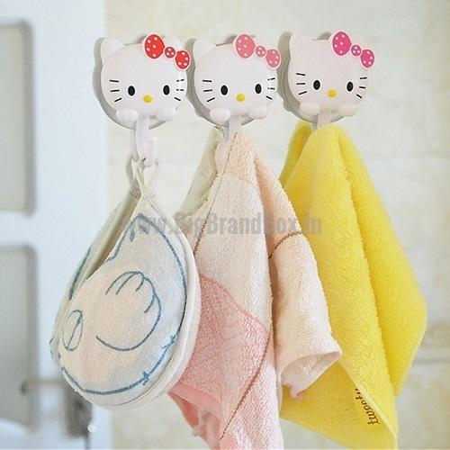 2 Pcs Hello Kitty Suction Cup Hook