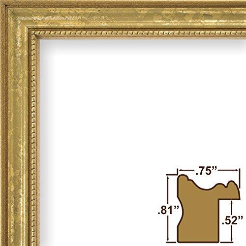12X18 Picture / Poster Frame, Ornate Finish, .75 Wide, Ornate Gold (314Gd)