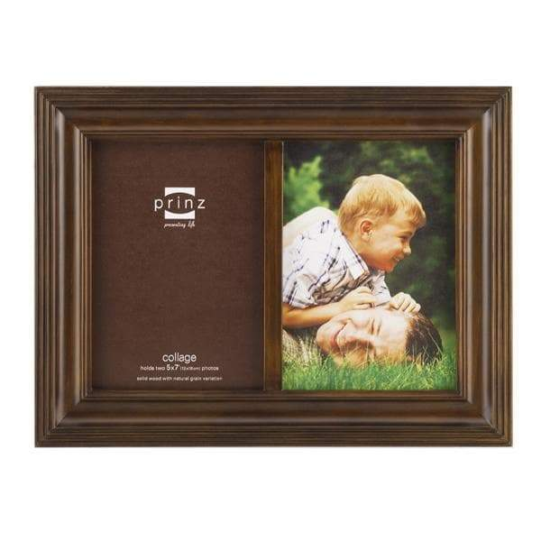 Eastman Taupe 2 Picture Collage Frame (5x7)