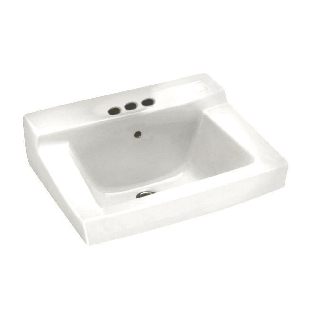 American Standard Declyn Wall-Mounted Bathroom Sink in White 100016