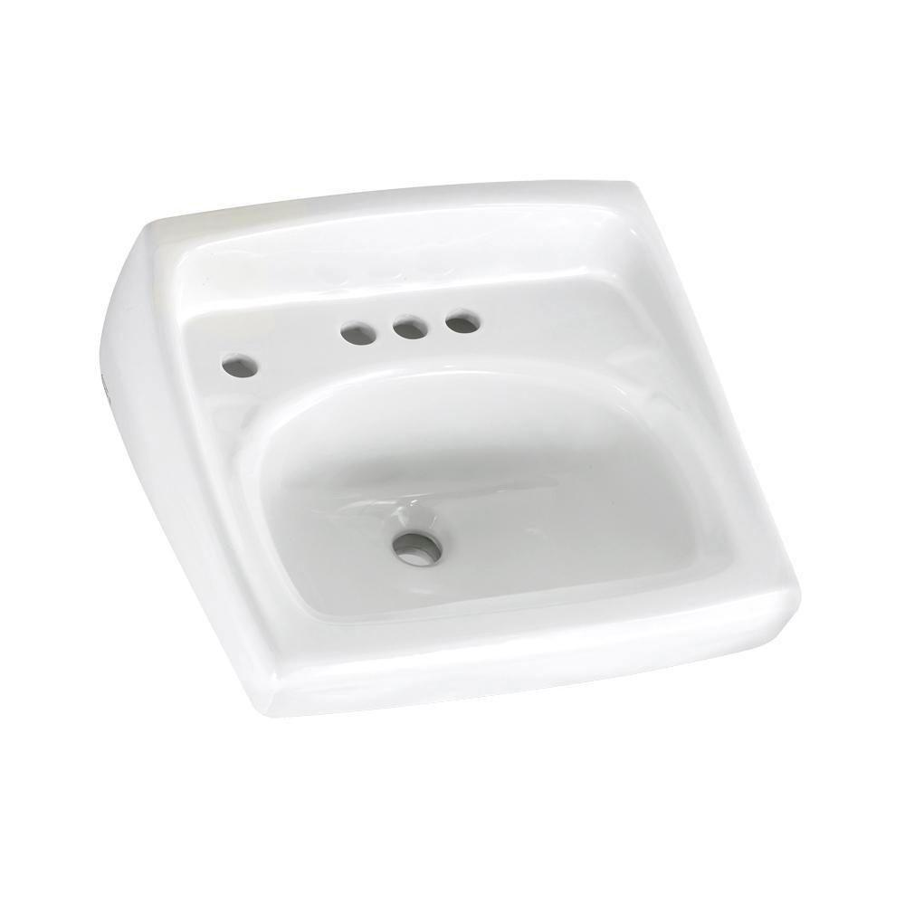 American Standard Lucerne Wall-Mount Bathroom Sink in White 184837