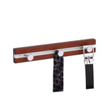 Wooden Wall Rack with 3 Hooks, Cherry