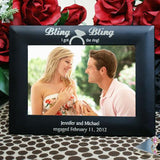 Engraved Engagement Frame