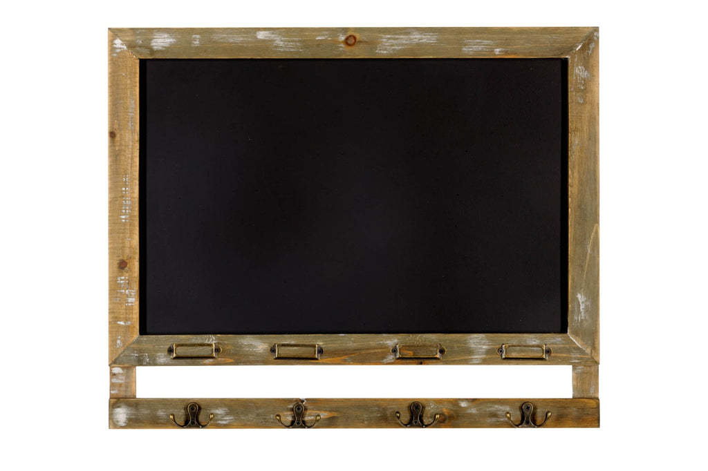 Blackboard with 4 Hooks 55 x 46cm