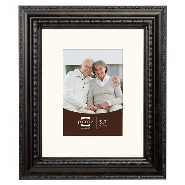 Royale Gallery Vintage Brown Matted Picture Frame (5x7)