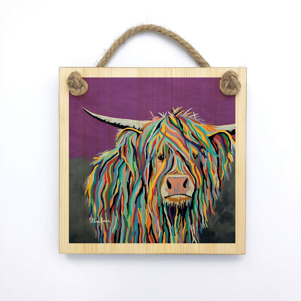 Angus McCoo - Wooden Wall Plaque