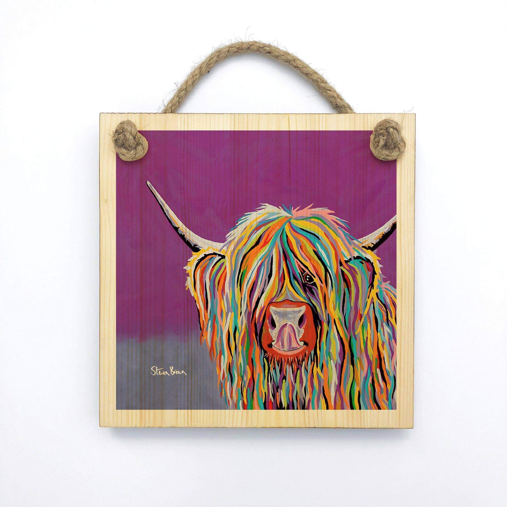 Betty McCoo - Wooden Wall Plaque