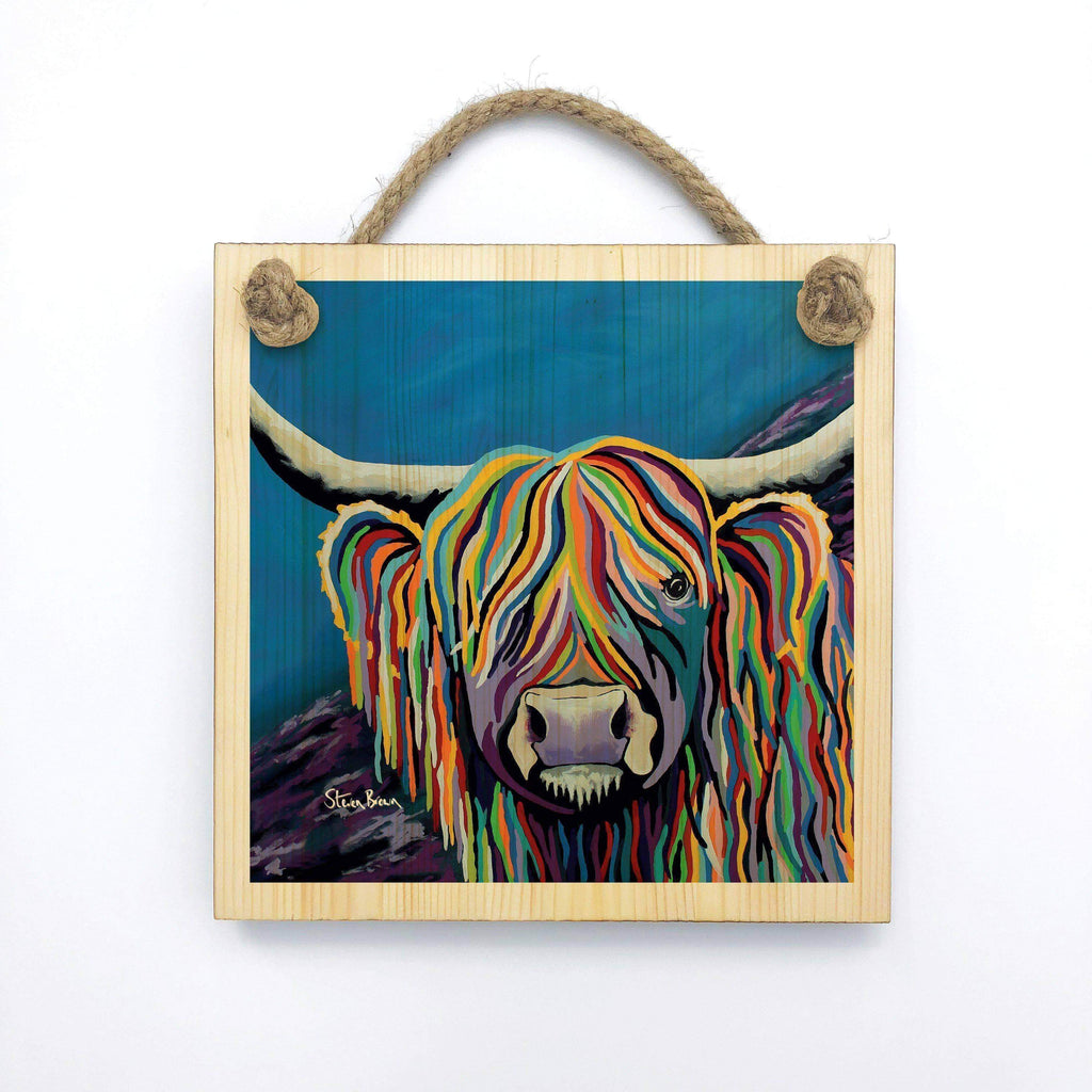 Billy McCoo - Wooden Wall Plaque