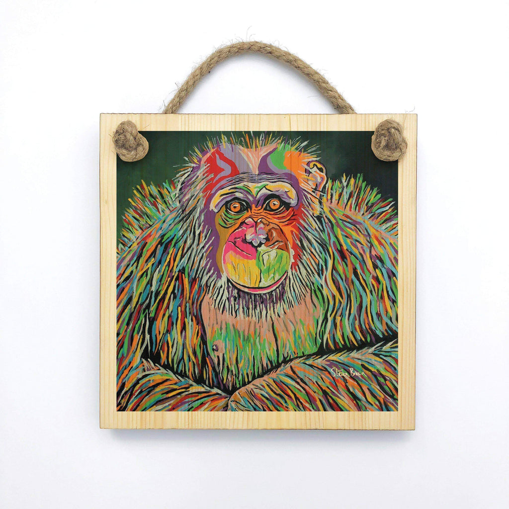 Boris McZoo - Wooden Wall Plaque