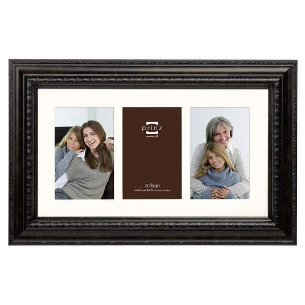 Royale Gallery Vintage Brown 3 Picture Collage Frame (4x6)