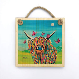Chloe McCoo - Wooden Wall Plaque