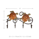 Mp Vintage Wall Hanger Hooks for Coats Keys Bags Rack Hanger Wall Mounted Hook Home Decoration Metal Animal Figurines