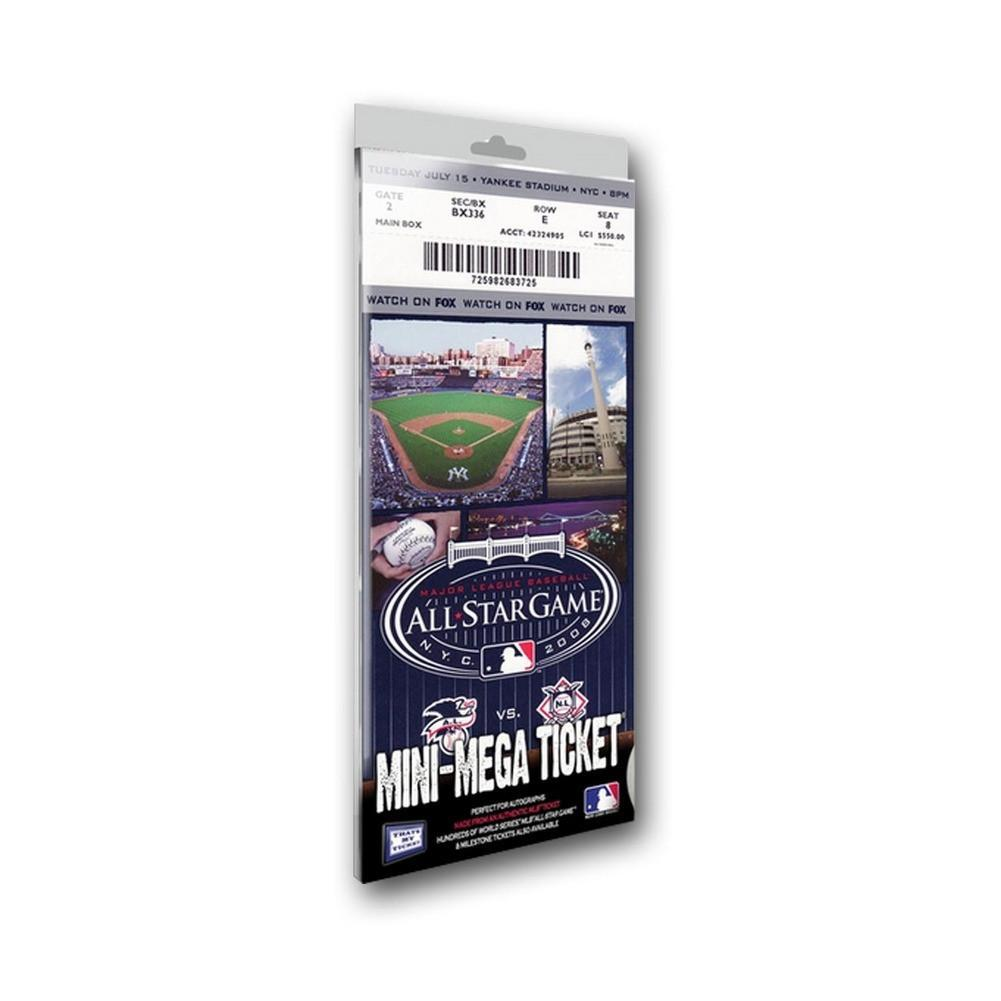 2008 MLB All-Star Game Mini Mega Ticket - New York Yankees