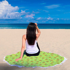 Tropical Buggles Bear Beach Blanket