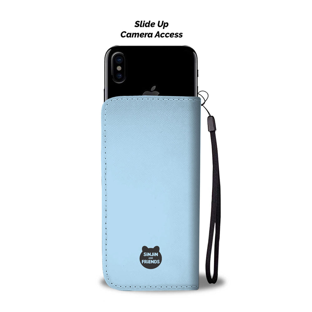 Selfie Bear Phone Wallet Case