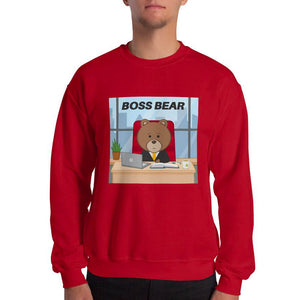 Men's Printed Boss Bear Sweatshirt