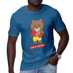 Men's Printed Boxing Bear T-Shirt