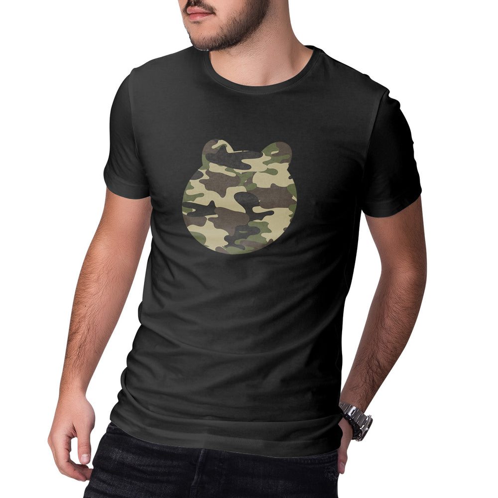 Men's Printed Camo Head T-Shirt