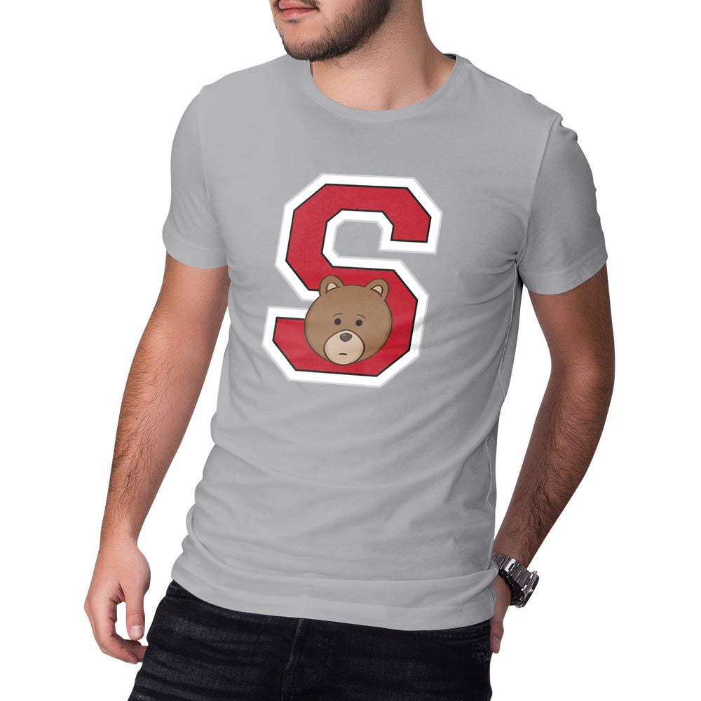 Men's Printed College S T-Shirt