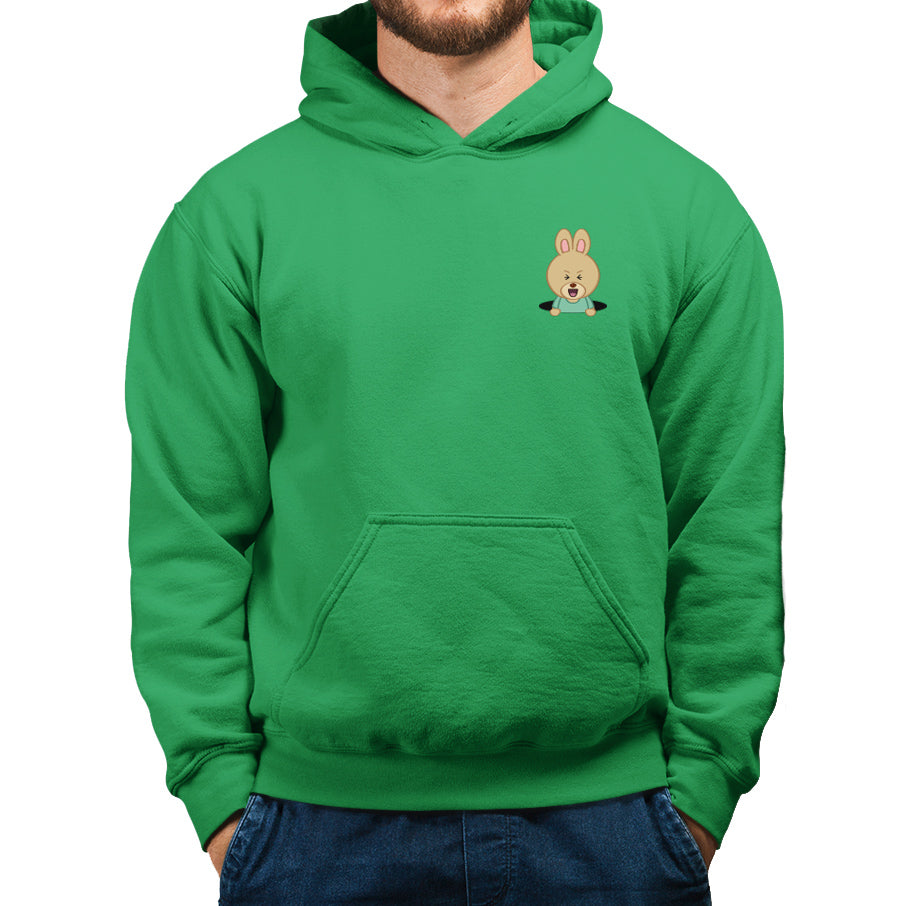 Men's Printed Rabbit Hole Hoodie