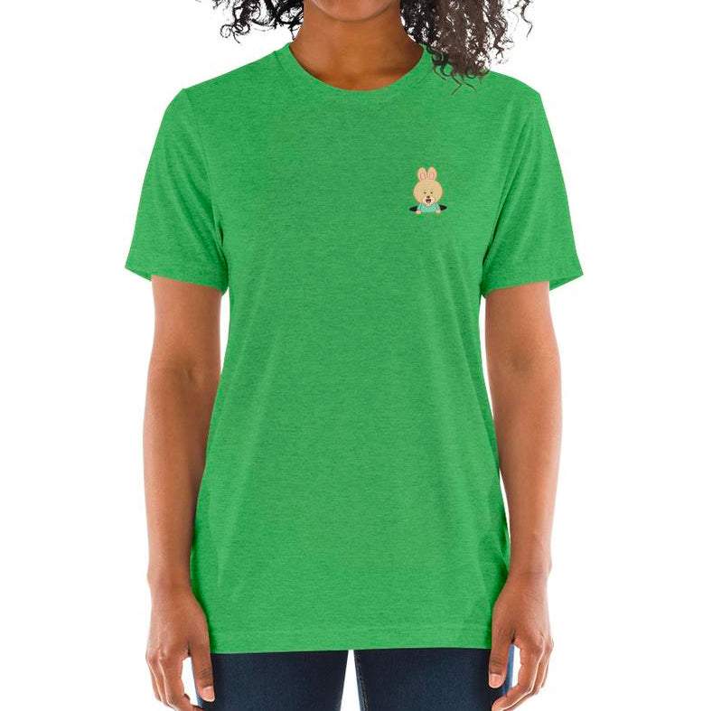 Women's Printed Rabbit Hole Relaxed Fit T-Shirt