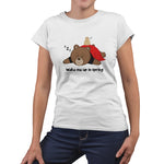 Women's Printed Sleepy Bear T-Shirt