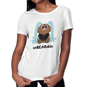 Women's Printed unBEARable Relaxed Fit T-Shirt