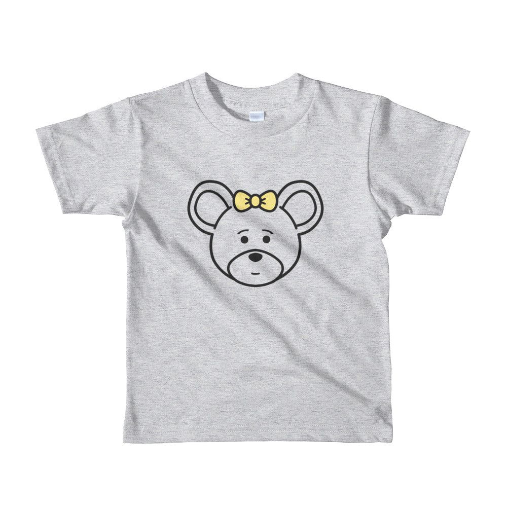 Girl's Kids (2-6 Years) Printed Mouse T-Shirt