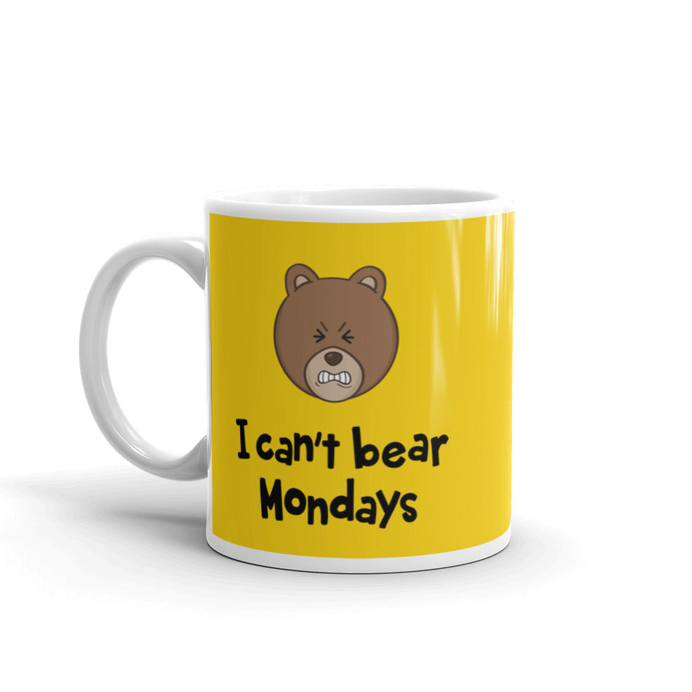I Can't Bear Mondays Mug