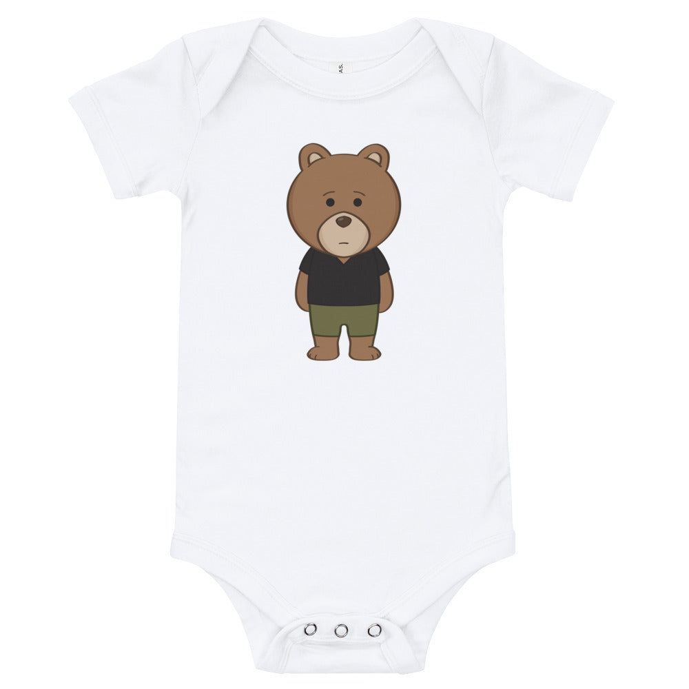Baby Bear Front and Back Onesie