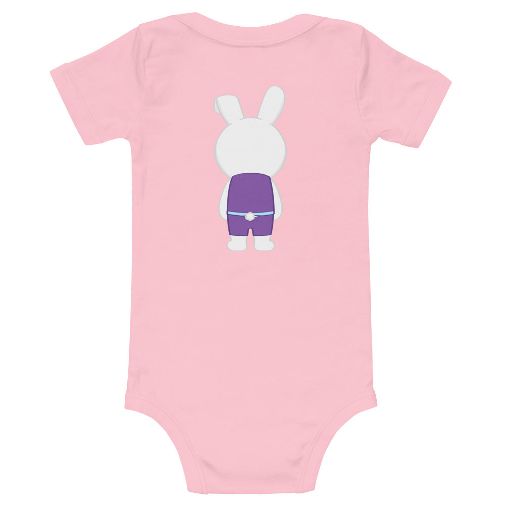 Baby Bunny Front and Back Onesie