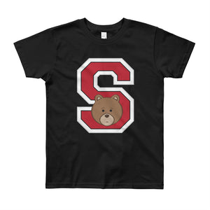 Unisex Kids (8-12 Years) Printed S College T-Shirt