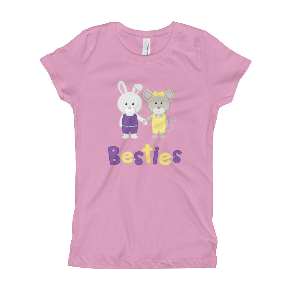 Girl's Youth Printed Besties T-Shirt