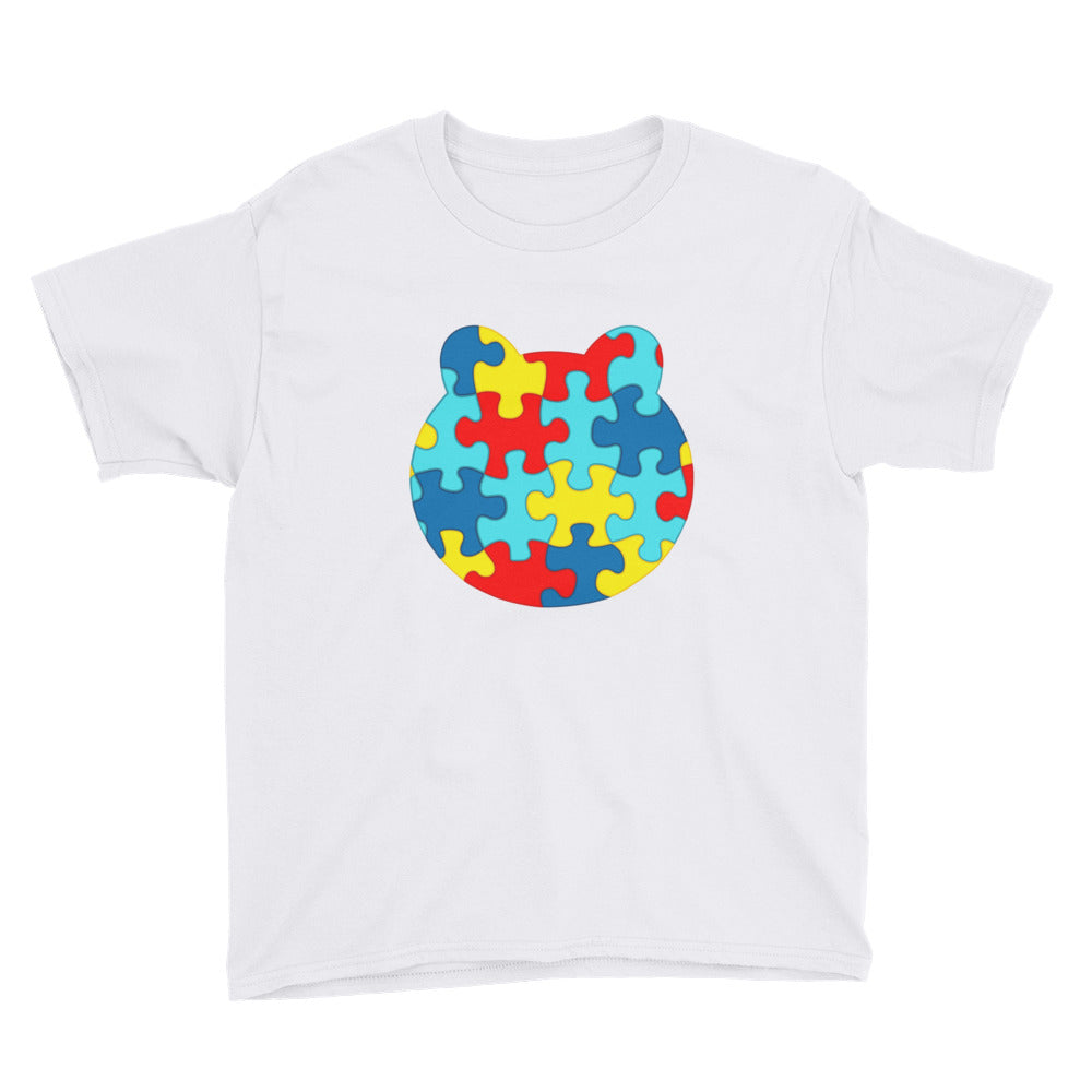 Boy's Printed Autism Awareness T-Shirt