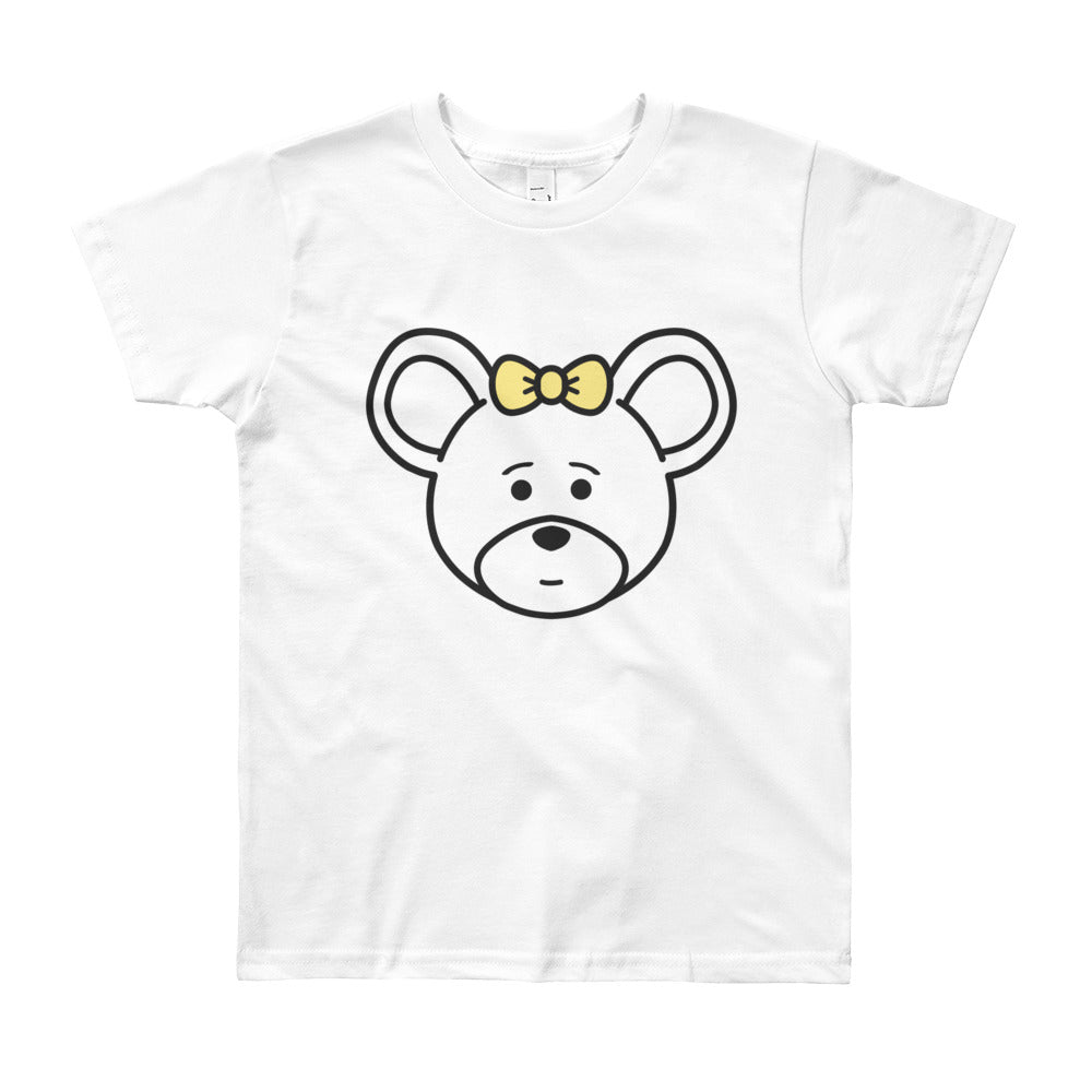 Girl's Youth (8-12 Years) Printed Mouse T-Shirt