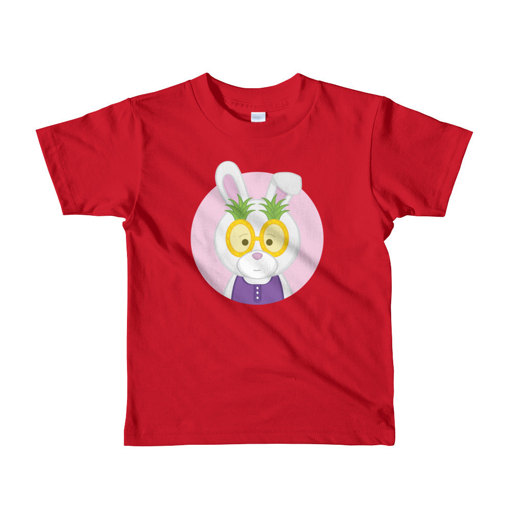 Girl's Kids (2-6 Years) Printed Pineapple Bunny T-Shirt