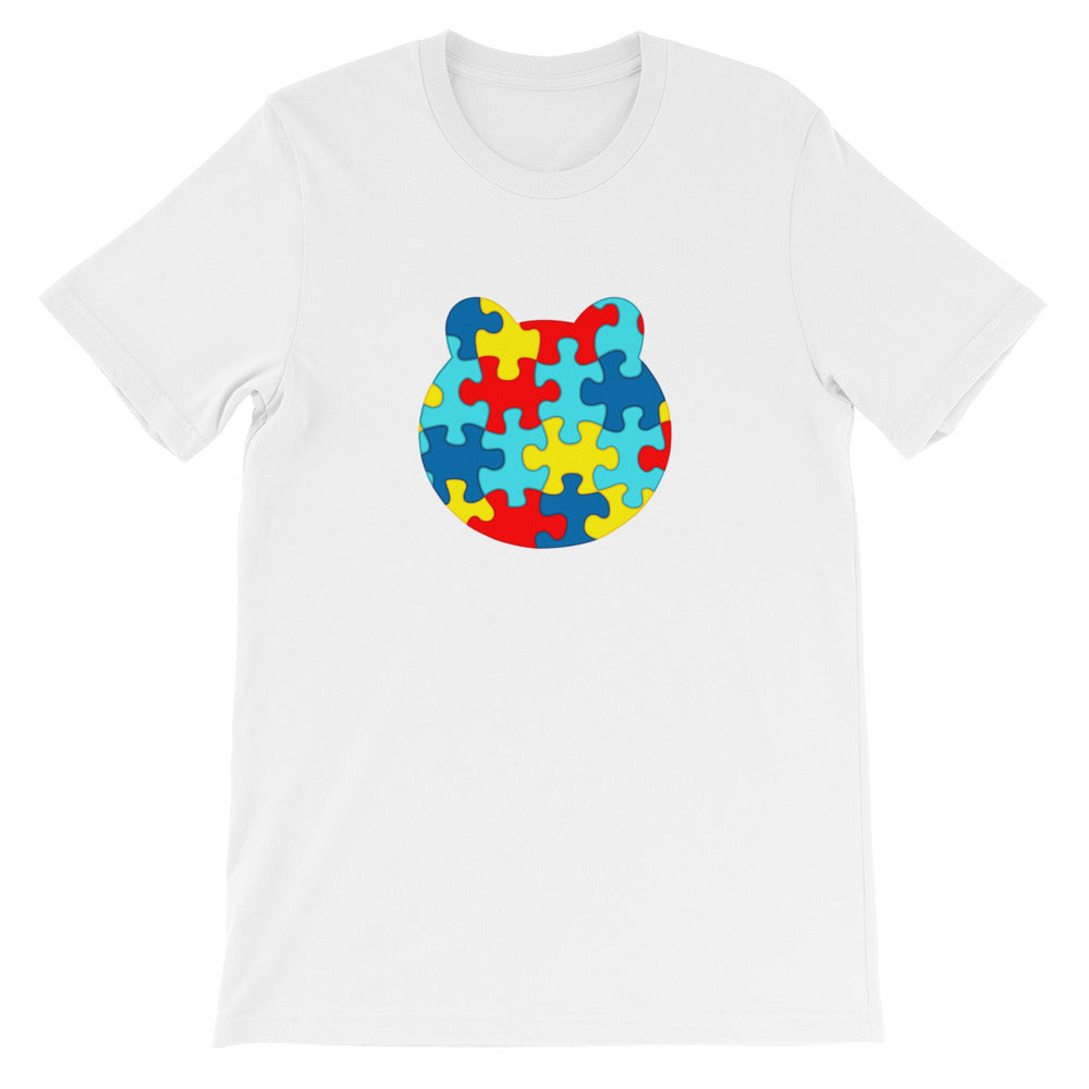 Women's Printed Autism Awareness Relaxed Fit T-Shirt