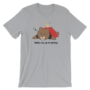 Men's Printed Sleepy Bear T-Shirt